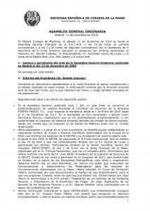 Acta Asamblea SECMA diciembre 2010