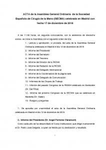 Acta Asamblea SECMA diciembre 2016