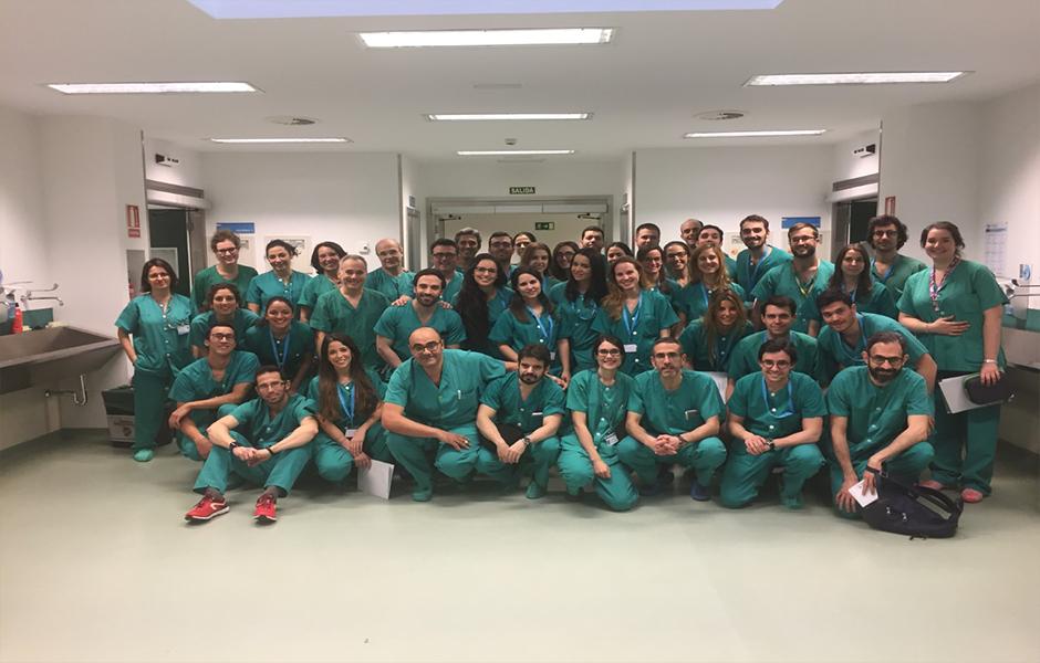 Curso de Cirugía Básica de la Mano Hospital 12 de Octubre