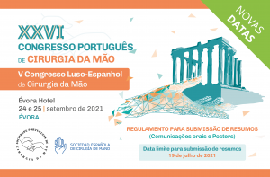 XXVI CONGRESO PORTUGUÉS DE CIRUGÍA DE LA MANO @ Évora