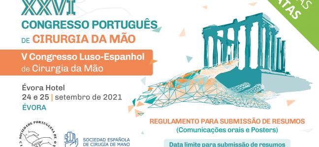 NUEVAS FECHAS_XXVI Congreso Portugués Cirugía de la Mano_SPOCMA