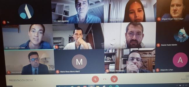Reunión de presentación de laI Edición del Plan Formativo DECIM