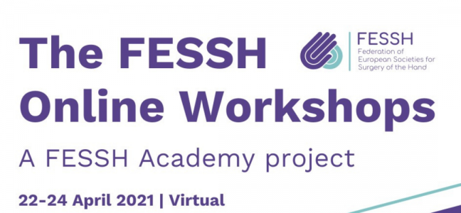 The FESSH Online Workshops